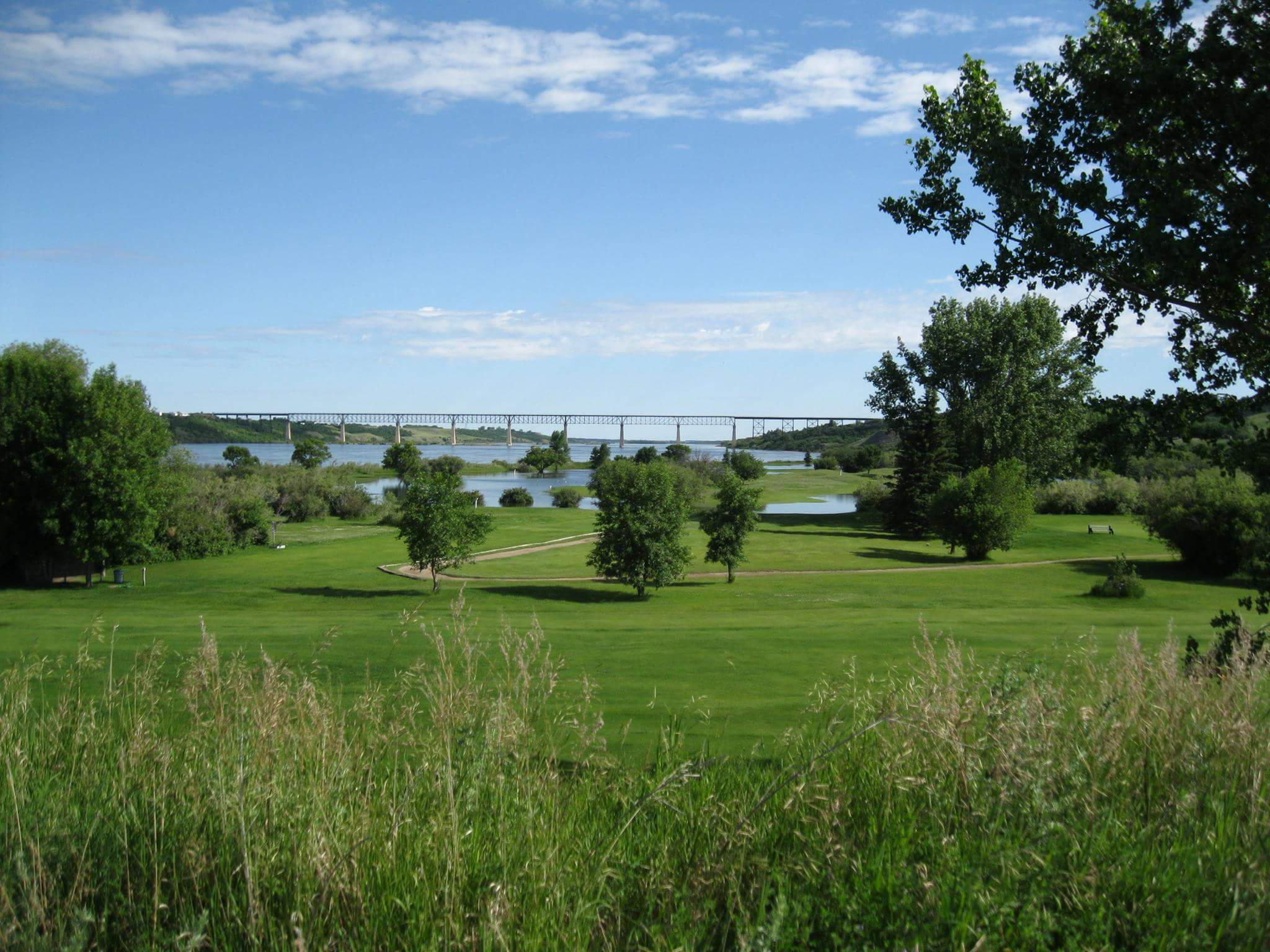 "Riverview Golf Course – ""B.O.B."" viewpoint"